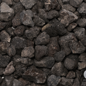 BLACK LAVA - DECORATIVE STONE -