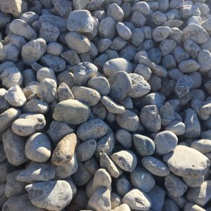 "3"" - 6"" RIVER ROCK - DECORATIVE STONE -"