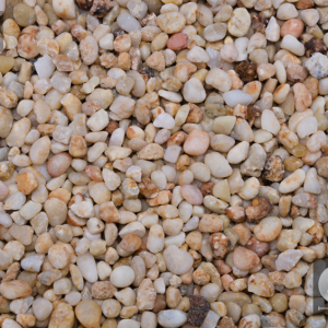 SILICA PEBBLES - DECORATIVE STONE -