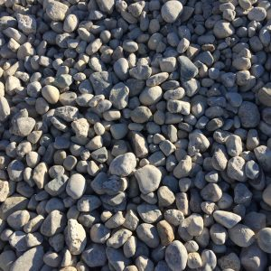 "1"" - 3"" RIVER ROCK - DECORATIVE STONE -"