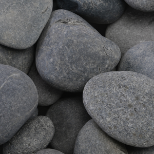 MEXICAN BEACH BLACK PEBBLES - DECORATIVE STONE -