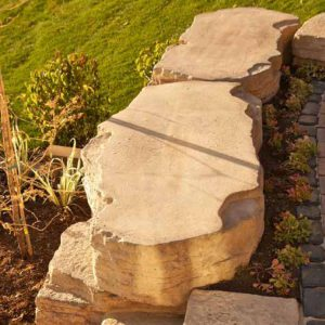 FREESTANDING OUTCROPPING - WALLS -