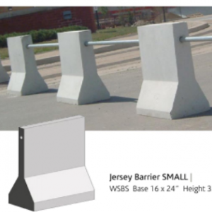 "24"" JERSEY BARRIER - COMMERCIAL - BARRIERS"