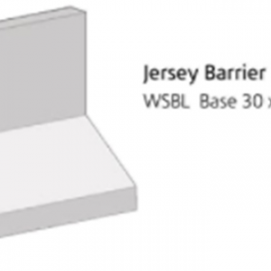 "30"" JERSEY BARRIER - COMMERCIAL - BARRIERS"