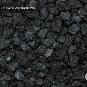 EBONY BLACK GRANITE - DECORATIVE STONE - GET BULK