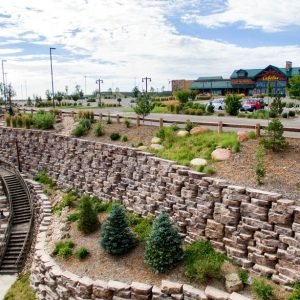 LARGE RETAINING WALL SYSTEMS