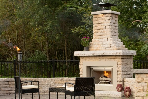 CLAREMONT FIREPLACE - FIRE PITS & MORE - FIRE PLACE KIT